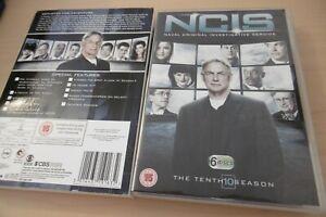 Ncis Dixième Saison Série 10 Coffret 6 Disques Cert 15 CBS TV Pal Région 2