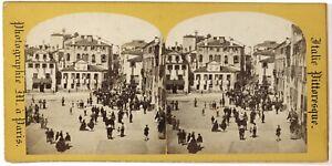 Venezia-Italia-Foto-M-a-Parigi-Stereo-Th1L8n-Vintage-Albumina-c1865
