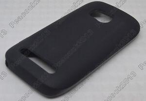 Black-Matting-TPU-Silicone-CASE-Cover-For-Nokia-Lumia-710