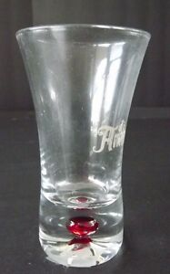 Shot-Glass-di-amore-with-a-Red-Bubble-in-the-Bottom-3-tall-Free-Shipping