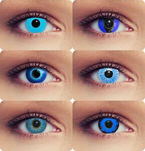 blaue farbige kontaktlinsen f r halloween eisblaue elfen kontaktlinsen ebay. Black Bedroom Furniture Sets. Home Design Ideas
