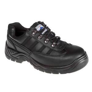 Steelite Noir Safety Portwest Trainer Fw15 q4wxAZA7