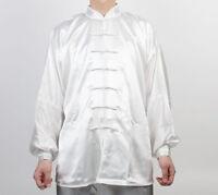 Wushu Taichi Uniform Kungfu Uniforms Tai Chi Chuan Chinese Kung Fu Ivory White