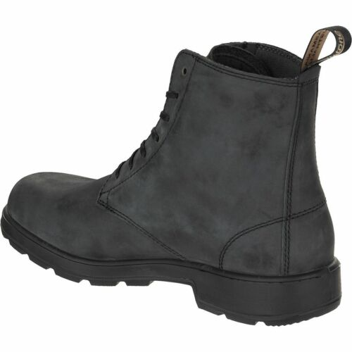 Desert pelle Ankle Boots 12 in Leather 1451 nera Blundstone Taglie 4 Desert qXw4tI40