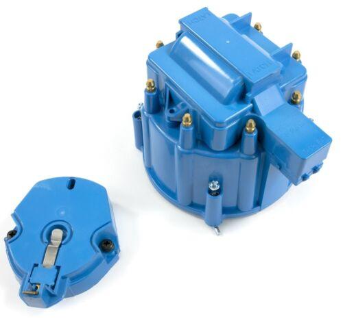 MAXX 4404B Blue HEI Distributor Cap 62-80 Small Block Ford 221 260 289 302 V8