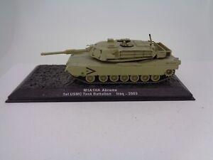 1-72-echelle-statique-Modele-Char-De-Combat-M1A1HA-Abrams-1st-USMC-Tank-Battalion-Iraq