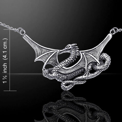 Sea Dragon .925 argent sterling Collier par Peter Stone bijoux