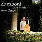 Giovanni Zamboni - Zamboni: Lute Music (2014)