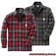 Hubbard Shirt Thermohemd Carhartt 102333 Jacket Lined Sherpa Hemdjacke ZdtgzBqgw