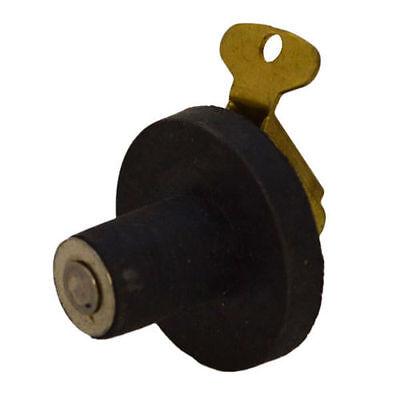 "2 Twist-Tite 1/"" Aluminum Fishwell Baitwell Drain Plugs"