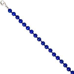 Edelsteinkette-Kette-Collier-aus-Lapis-Lazuli-Lapislazuli-blau-925-Silber-45cm
