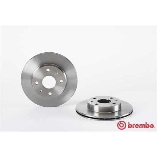 BREMBO 2x Bremsscheiben Innenbelüftet 09.A421.10