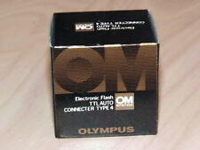 OLYMPUS OM TTL AUTO CONNECTER TYPE 4 FOR OM-1N OM-2N NEW IN BOX