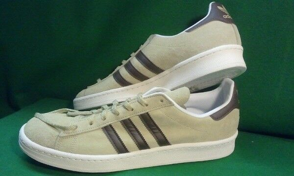 9bd0af650788a6 adidas Mens Campus 80s Nigo Originals Tan Suede Shoe Size 11 S77705 for  sale online
