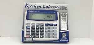 Kitchen-Calc-Pro-8305-Master-Chef-039-s-Edition-Recipe-Conversion-Calculator-w-Timer