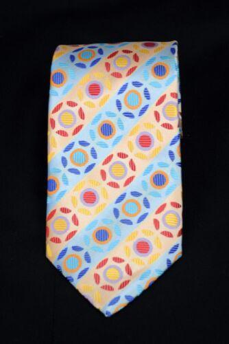 Lord R Colton Masterworks Tie Pisa Blue /& Orange Woven Necktie New