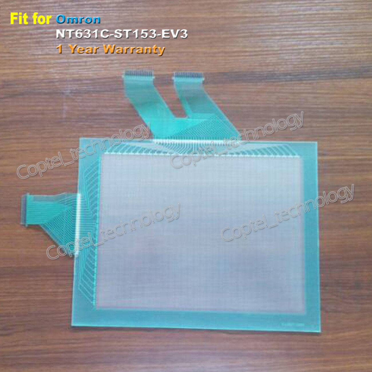 For Omron NT631C-ST153-EV3, NT631CST153EV3 Touch Screen Glass 1 Year Warranty