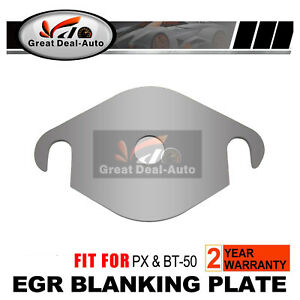 EGR-Blanking-Plate-Fit-Ford-PX-PXII-Ranger-For-Mazda-BT50-3-2L-amp-2-2L-Exhaust-Side