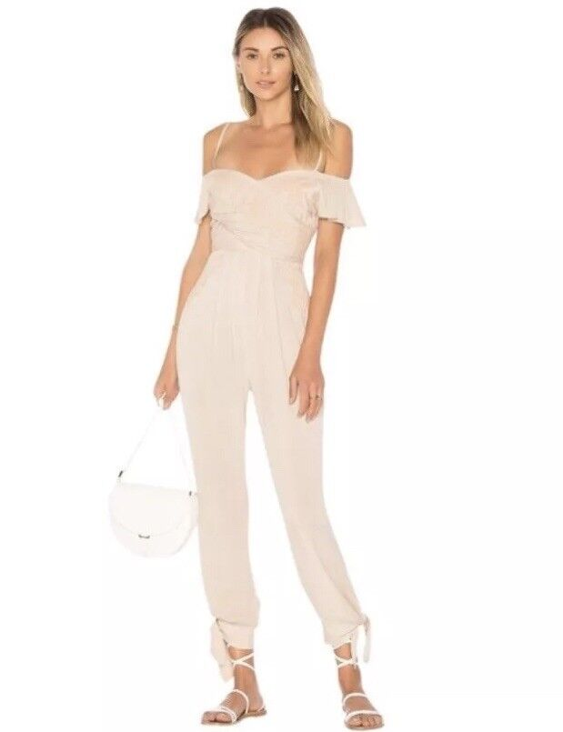Free People Ivory In The Moment Romper Jumpsuit Sizes 4 & 6 Retail  168