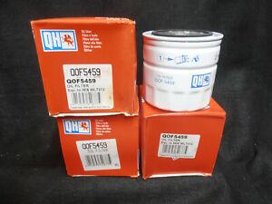 4x-Quinton-Hazell-Oil-Filters-Freelander-MG-Rover-Honda-2-0-Diesel-QOF5459