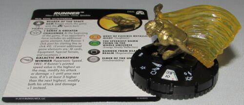RUNNER 066 Avengers Black Panther /& the Illuminati HeroClix Super Rare