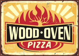 WOODEN-PIZZA-OVEN-AMERICAN-DINER-METAL-SIGN-RETRO-PLAQUE-FAST-FOOD-CAFE-BAR