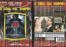 A CENA COL VAMPIRO - DVD (NUOVO SIGILLATO) LAMBERTO BAVA
