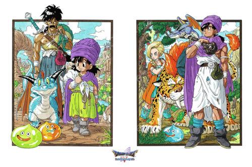 RGC Huge Poster NVG280 Dragon Quest V Hand of Heavenly Bride POSTER PS2 DS