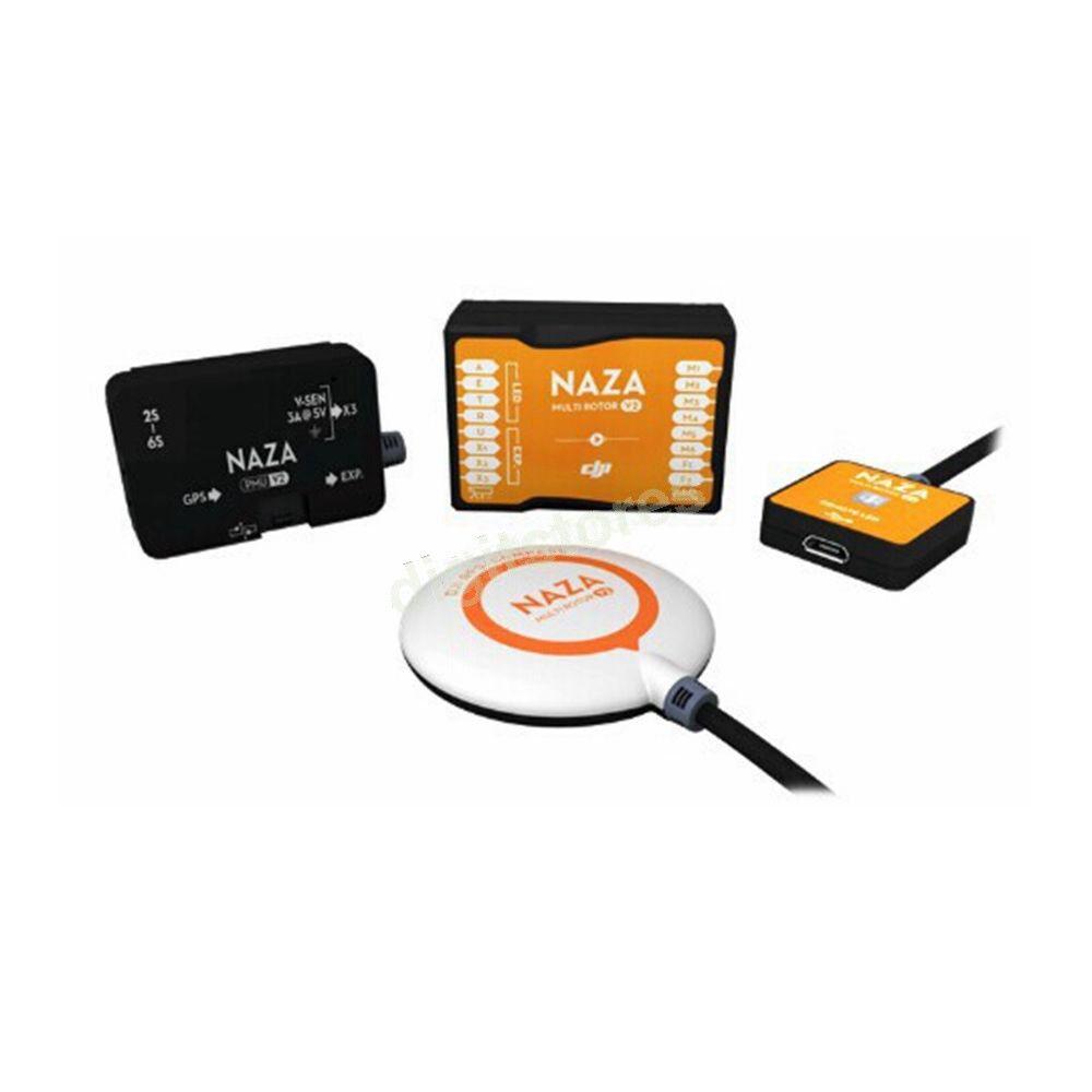 Nueva marca DJI Naza V2 con GPS, LED M, PMU Peine controlador de vuelo Embalaje Original