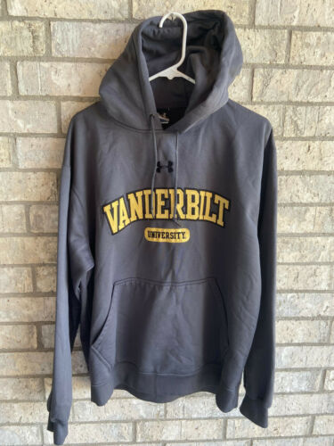 euc heavy UNDER ARMOUR pullover hoodie VANDERBILT