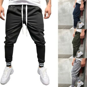 038f8154a1e Men Hip Hop Pants Sport Fitness Joggers Trousers Streetwear Pants ...