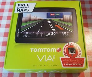 NAVIGATORE-SATELLITARE-TomTom-VIA-135M-Autovelox-Edition-Fisso-5-034-Touch-screen-1