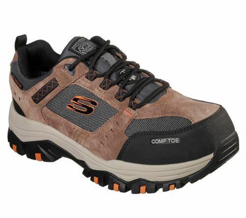 Skechers Men's Work Greetah Comp Toe Safety Work Shoes 77183EC