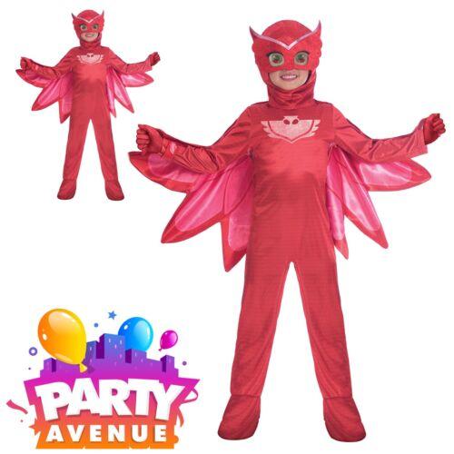 Officiel Deluxe PJ Masques owlette enfants livre semaine Fancy Dress Costume