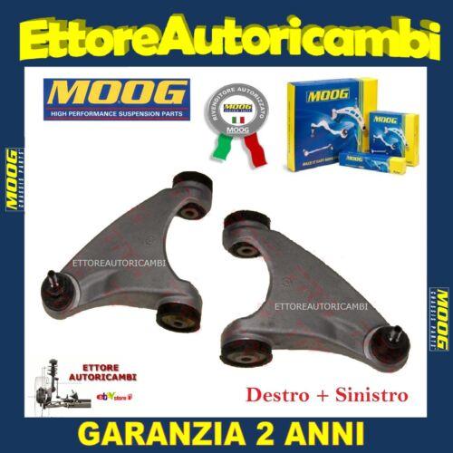 2 BRACCI SOSPENSIONE ANTERIORI SUPERIORI MOOG ALFA 147 156 GT NUOVI COMPLETI