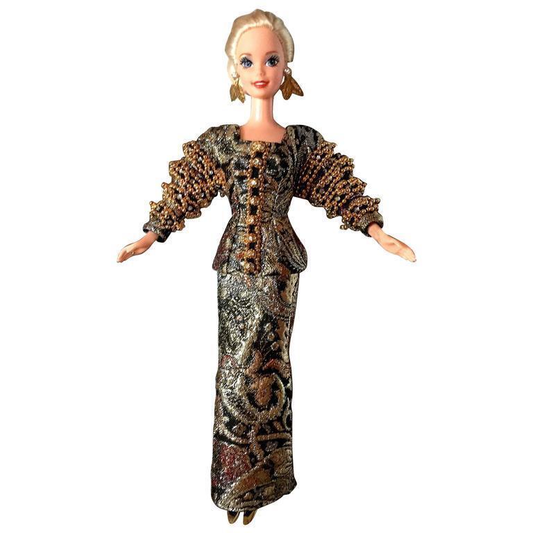 Vintage Barbie Christian Dior 1995 creaciones atemporal nunca quitado de la caja sin usar, en caja de edición limitada