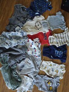 Gerber Preemie Newborn Baby Boy Clothes Lot 15 Pcs 889338349056 Ebay