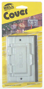 Bell 5101 6 Weatherproof Gfci Outlet Cover 1 Gang White Ebay