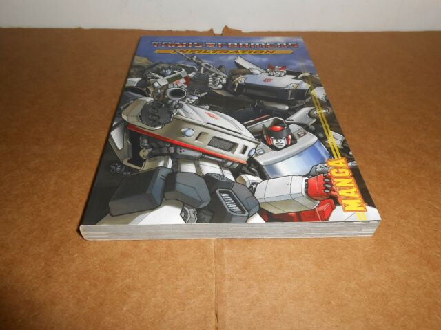 Transformers: Infiltration Manga by Simon Furman Graphic Novel Book in English