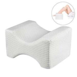 Memory-Foam-Knee-Pillowcase-Orthopedic-Memory-Foam-Knee-Wedge-Pillow-Case-New