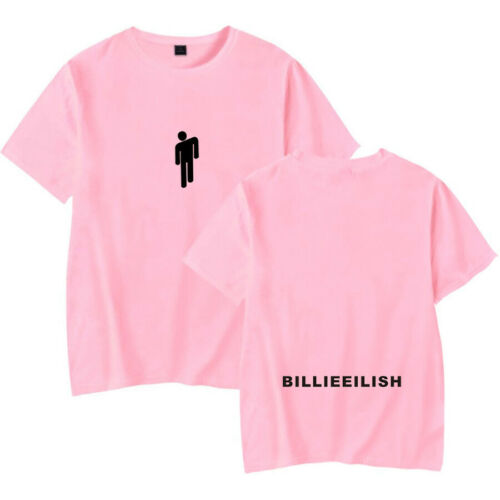 NEW Billie Eilish T Shirt Pop Singer Fans Gift Ocean Eyes Youth Top XXS-4XL 2019