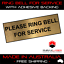 PLEASE-RING-BELL-FOR-SERVICE-GOLD-SIGN-LABEL-PLAQUE-w-Adhesive-8-5CMx3CM