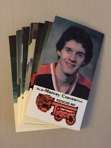 1983-84-Medicine-Hat-Tigers-WHL-Police-Issue-Team-Set