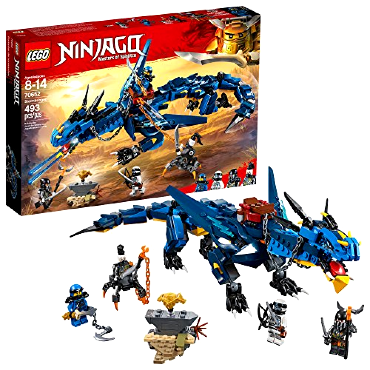 LEGO NINJAGO Masters of Spinjitzu   Stormbringer 70652 Ninja giocattolo costruzione Kit wi  sconto online