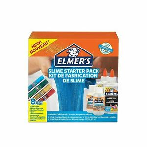 Elmer's Glue Slime Starter Kit Magical Liquid Clear Glitter Pens and Liquid Activator