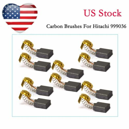 Details about  /5 pair Carbon Brushes For Hitachi 999036 Sander 7X15X19.9mm US