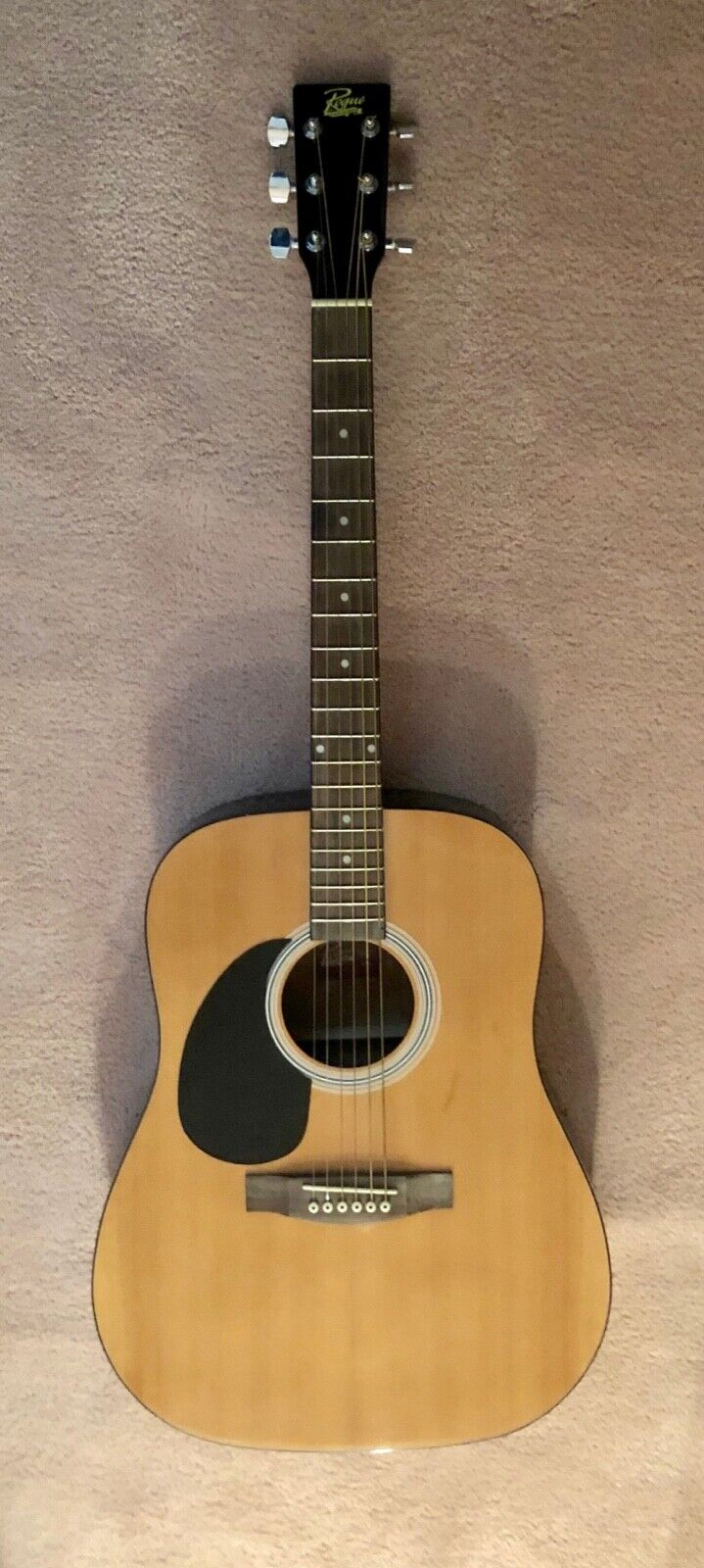 Rogue RG-624 Acoustic Left Handed Guitar.