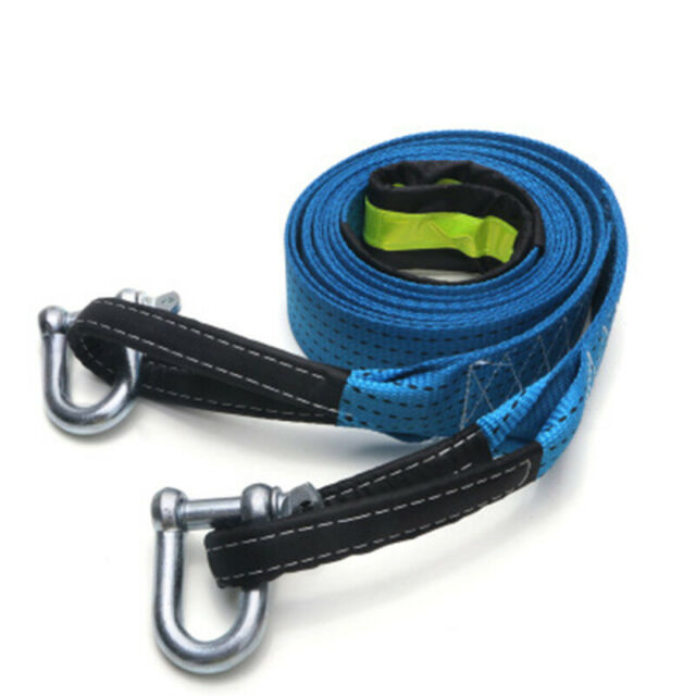 4M Tow Towing Pull Rope Strap 8 Tonne Heavy Duty Road Car Van Recovery