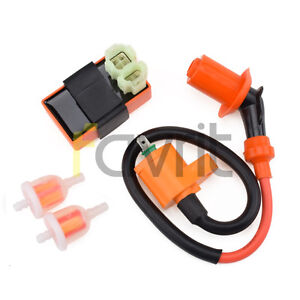 Details about CDI IGNITION COIL FOR MANCO AMERICAN SPORTWORKS CARBIDE  ZIRCON 150CC GO KART