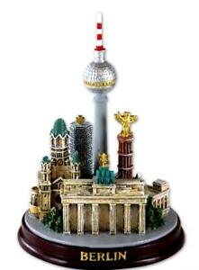 Berlin-Modell-5-er-Collage-Souvenir-Germany-Dom-Reichstag-Tor